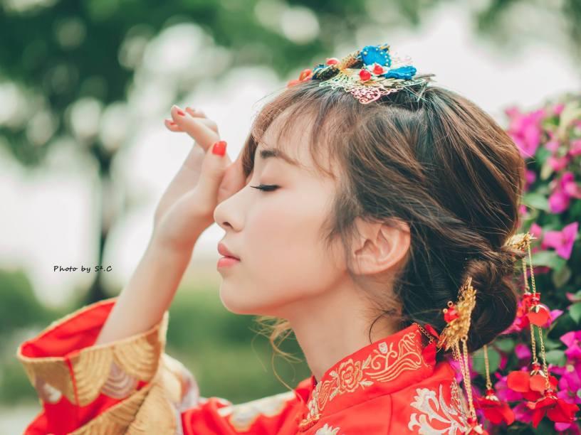 秀鳳中式禮服|龍鳳褂|秀禾服